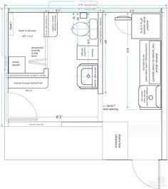 Bathroom Laundry Room Combo Floor Plans | Bathroom Reno in ...