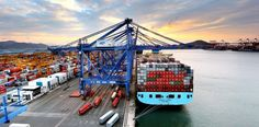 Maersk La Paz in Busan, South Korea.
