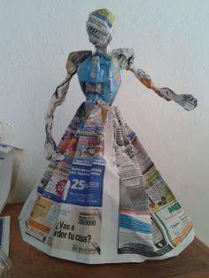 Paper Mache Projects, Paper Mache Diy, Paper Mache Sculpture, Diy Paper, African… – Haircut Trends For Men and Womens – TrendPin Paper Mache Diy, Paper Mache Projects, Paper Mache Sculpture, Diy Paper, Paper Art, Halloween Food Crafts, Halloween Doll, Diy Halloween Decorations, Paper Dolls