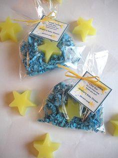 20 Twinkle Twinkle Little Star Glycerin Soap by brownbagbathbars, $28.00