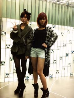 Jia and Fei of miss A