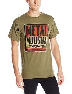 Metal Mulisha Men's Cell Block Premium T-Shirt, Military Green, 2X-Large