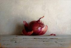 "Dana zaltzman on Instagram: ""Onion... #still_life #contemporaryrealism #contemporarystilllife #classicart #classicalpainting #realistpainting #realism…"" Still Life, Asparagus, Photo And Video, Contemporary, Onions, Garlic, Paintings, Instagram, Videos"