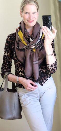MaiTai's Picture Book: Style challenge - leopard print!