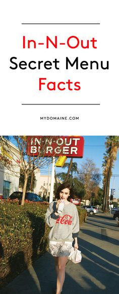 In-N-Out Burger little known facts