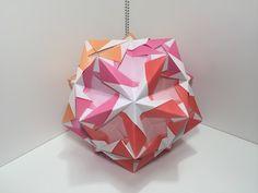 【Modular Origami】ふれーむすけB30枚組【ユニット折り紙】13 - YouTube