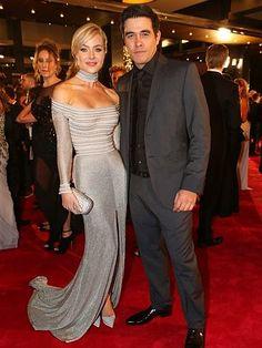2014 Logies red carpet | Jessica Marais & James Stewart