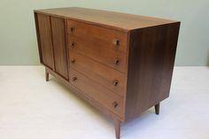Vintage Barzilay Credenza / Dresser - 1960s Mid Century Modern on Etsy, $1,595.00