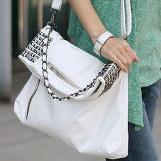 $32.99 Elegant Fashion ,Rivet ,Handbag ,Shoulder ,Bag