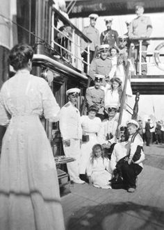 On the Standart, 1908.
