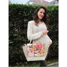 #miss_s_design #flower #bag #trapezebag #style #trend #streetstyle #streetfashion
