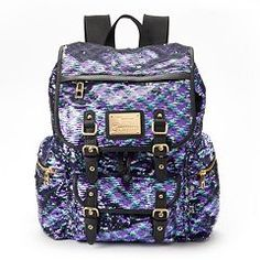 Juicy Couture Lacey Sequin Backpack