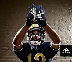 102be6ae0 Notre Dame and adidas unveiled new TECHFIT football uniforms that the Irish  will wear against the Miami Hurricanes for this year s