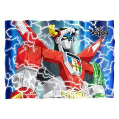 """Checkout our #LicensedGear products FREE SHIPPING + 10% OFF Coupon Code """"Official"""" Voltron/Lightning Combine-Pillow Case-White-One Size - Voltron/Lightning Combine-Pillow Case-White-One Size - Price: $25.99. Buy now at https://officiallylicensedgear.com/voltron-lightning-combine-pillow-case-white-one-size"""
