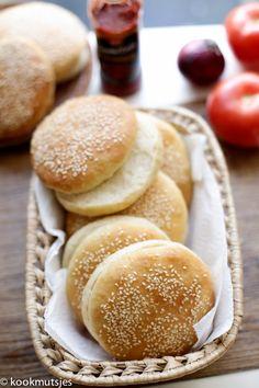Hamburger broodjes | Kookmutsjes