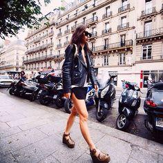 #SpottedInLondon by @fashiontoast What do you think of this style?  #ETNIICO #london #fashion