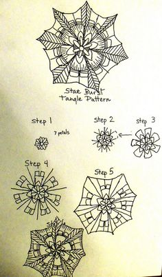 Star burst ..i only like it up to step 5. Step 5 is for me, really nice.