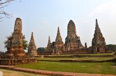 Wat Chai Watthanaram, Ban Pom, Thailand