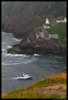 #Lighthouse in St. John's, Newfoundland - Fort Amherst http://www.raphael-lacoste.com/photo/newfoundland/pages/St-johns-lighthouse.htm
