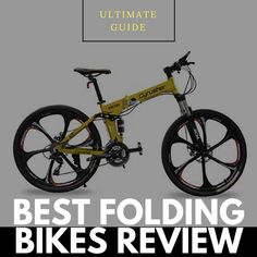Best Folding Bikes Reviews of 2019 #foldingbikes #bikesreview #2019bikes #bestselling