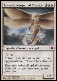 Linvala, Keeper of Silence - Creature - Cards - MTG Salvation