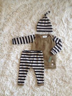 Baby boy coming home outfit! Newborn pants shirt and matching hat! Ready to ship (LondinLuxBrand) on Etsy, $62.00