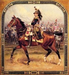 Detaille - Le General d'Hautpoul a Cheval.
