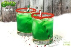 The meanest and grinchiest drink around!