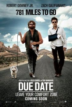 (2017)   Rating: 4/5  - Zach G. is annoyingly funny. Robert D.Jr. was convincing as a frustrated guy who was conned by an annoying and sometimes stupid stranger. It's a crazy roadtrip that doesn't makes sense sometimes but, it made me laugh.