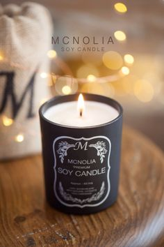 McNOLIA soy candle (Dreamlike scent)