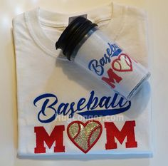 Applique Baseball Mom embroidery file HL1007 by HugLonger on Etsy