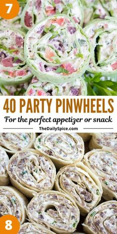 Pinwheel Appetizers, No Cook Appetizers, Pinwheel Recipes, Finger Food Appetizers, Christmas Appetizers, Appetizers For Party, Appetizer Recipes, Snack Recipes, Finger Foods