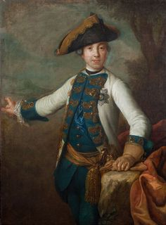 Portrait of Grand Duke Peter Fedorovich (Later Peter III of Russia). Pietro dei Rotary
