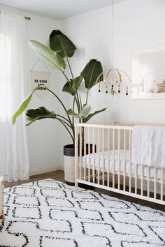 gender neutral nursery decorations boho rustic chic #Nurserydecoratingideas