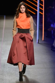Milly at New York Fashion Week Fall 2015 - Runway Photos