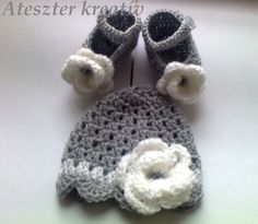 Baby Girl Crochet Hat Baby Girl Beanie with Baby by paintcrochet, $25.00
