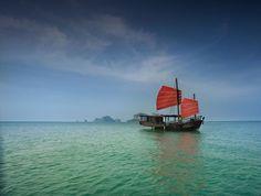 Siamese Junk Boat, Thailand