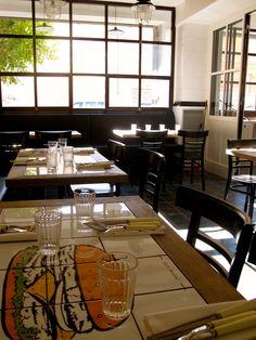Ecco i tavoli della nostra Trattoria   www.portofluviale.com