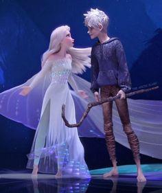 Disney Princess Pictures, Disney Princess Frozen, Elsa Frozen, Frozen Love, Princess Luna, Elsa Y Jack Frost, Jack And Elsa, Disney Fan Art, Disney Fun