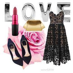 Designer Clothes, Shoes & Bags for Women Zac Posen, Mac Cosmetics, Christian Dior, Shoe Bag, Portrait, Simple, Polyvore, Stuff To Buy, Accessories