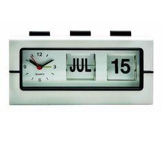 Retro Analog Flip Alarm Clock Dorm Essentials Must Have Dorm Gadgets