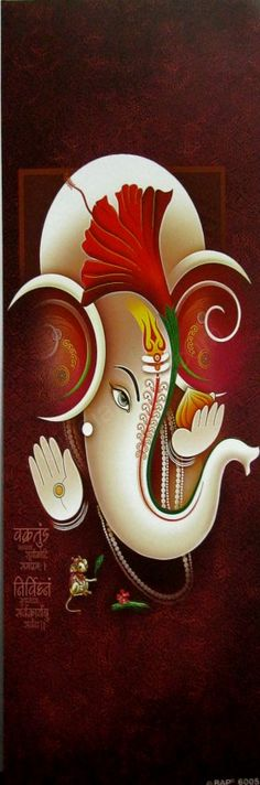 Lord Ganesha, the divine power that blesses new beginnings, clears obstacles on the path, guides the journey with wisdom, protects what is precious, draws out excellence, surrounds with auspiciousness, and ushers efforts to sparkling success