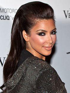 Would You Wear a Faux-Hawk Like Kim Kardashian? – Style News - StyleWatch - People.com