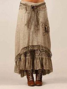 Gypsy Style, Bohemian Style, Boho Chic, Boho Fashion, Girl Fashion, Womens Fashion, Fashion Design, Fashion Clothes, Boho Outfits