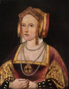 The Portrait Formerly Known as Catherine Parr ... now identified as Catherine of Aragon.