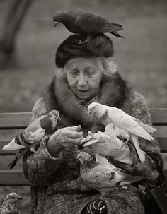 Suzy Grange Bird Lady of Central Park NYC