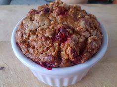 Suzanne's Kitchen : Pumpkin cranberry baked oatmeal simply filling + 0...