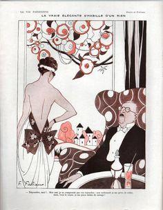 Fabien Fabiano (1883 – 1962). La Vie Parisienne, 14 Février 1920. [Pinned 24-xi-2015]
