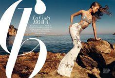 Eniko Mihalik by Nico in Harper's Bazaar Spain's June issue