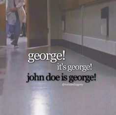 Grey's anatomy..worst episode ever...correction, worst day of my life!